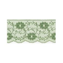 Nylon Lace Pale Green 2m x 11mm, 35mm, 55mm