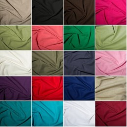 100% Cotton Linen Look Fabric Washed