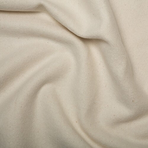 Bump Curtain Interlining Plain Coloured 100% Cotton Fabric