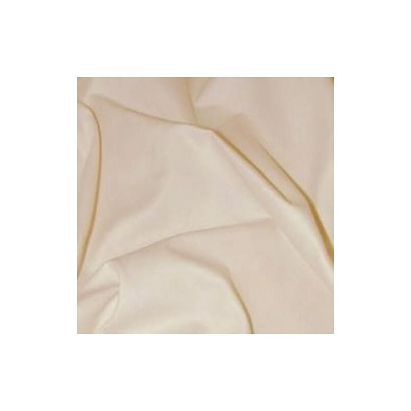 Cream Curtain Lining Fabric Solpruffe 63 Sateen 100% Cotton