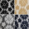 Pretty Floral Flowers Polyester Stretch Lace Fabric 90% Nylon 10% Spandex