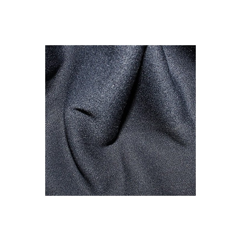 Navy Stretch Poly Viscose Fabric Suiting Spandex