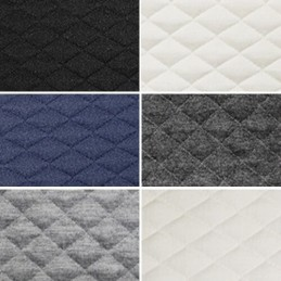 Stretch Quilting Fabric Diamond Quilted Poly Spandex Material