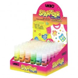 Leeho Sparkler Machine Washable Non Toxic Fabric Paint Pens