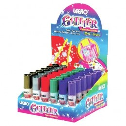 Leeho Glitter Machine Washable Non Toxic Fabric Paint Pens