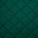 Bottle Green Quilted Polycotton Fabric