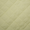 Lemon Yellow Quilted Polycotton Fabric