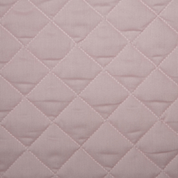Pale Pink Quilted Polycotton Fabric