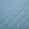 Pale Blue Quilted Polycotton Fabric