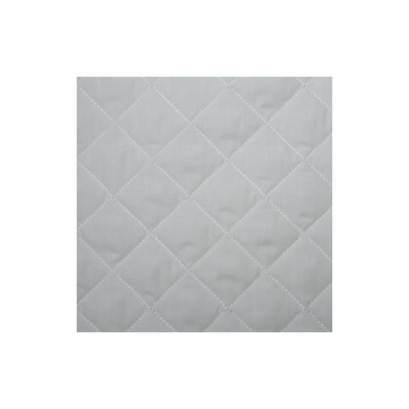 White Quilted Polycotton Fabric