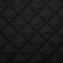 Black Quilted Polycotton Fabric