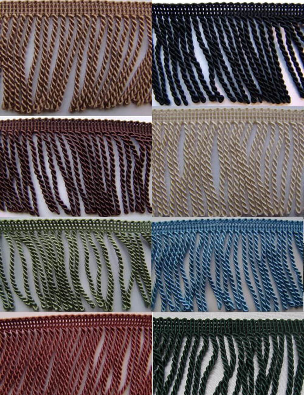 1m Bullion Fringe 6cm Upholstery Fringing Multiple Colours