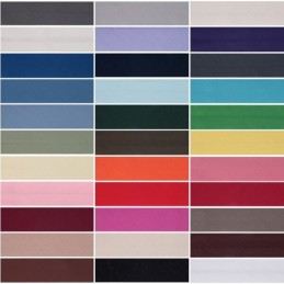 12mm Polycotton Bias Binding 2.5m or 20m 33 Colours