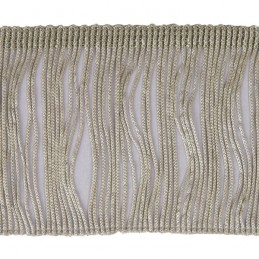 1m Chainette Cut Fringe 7.5cm Upholstery Fringing Multiple Colours
