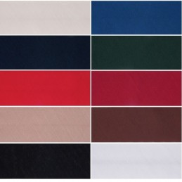 50mm Polycotton Bias Binding Hemming Craft 2.5m or 20m 10 Colours