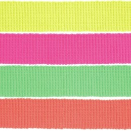 2, 5, 10 Or 15m 30mm Neon Webbing 100% Acrylic Tape Craft Upholstery