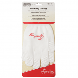 Sew Easy Premium Quilting Gloves in Small/Medium or Medium/Large