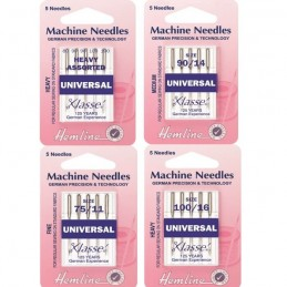 Hemline Universal Sewing Machine Needles Various Sizes And Types