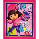 Dora The Explorer Best Friends Panel Cotton Patchwork Fabric