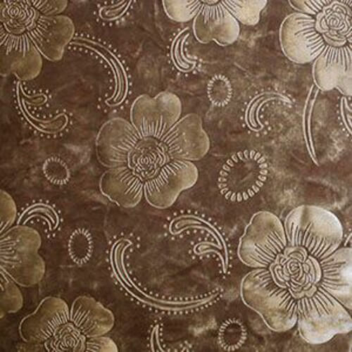 Poppies Floral Paisley Stretch Velvet Polyester Spandex Dress Fabric 145cm Wide