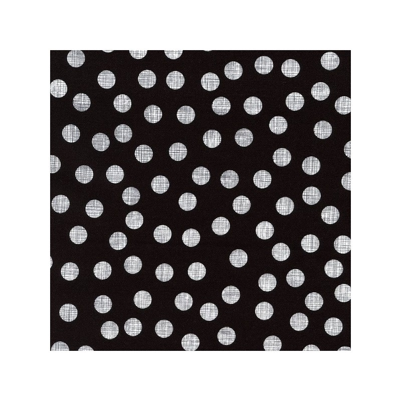 10mm Retro Checked Effect Polka Dot Spots 100% Cotton Patchwork Fabric
