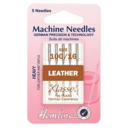 Hemline Leather Machine Needles Various Styles And Types