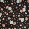 Indian Paintbrush Wolves Floating Petals Flowers 100% Cotton Fabric Patchwork