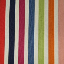 Dear Stella Deckchair Style Print Candy Stripes 100% Cotton Patchwork Fabric
