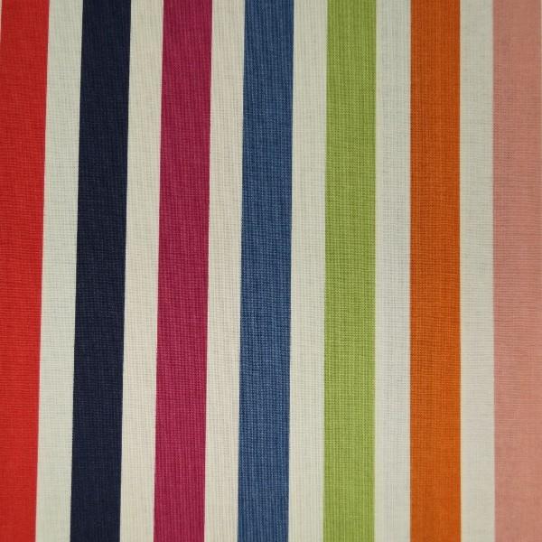 Dear Stella Deckchair Style Print Candy Stripes 100% Cotton Patchwork Fabric