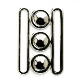 Vogue Star 65mm Silver Nurse Style Belt Clasp Buckle Replacement Fastener