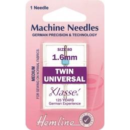 Hemline Twin Universal Machine Needles Various Styles And Types