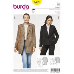Burda Style Women's Chic Casual Blazer Jacket Dress Sewing Pattern 6463