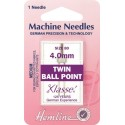 Hemline Twin Ball Point Machine Needles Various Styles And Types