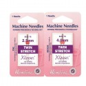 Hemline Twin Stretch Machine Needles Various Styles And Types