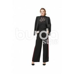 Burda Style Women's Trousers Lily Marlene Dress Sewing Pattern 6470