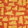 Full Steam Ahead Trains Outlines 100% Cotton Patchwork Fabric Quilting Treasures