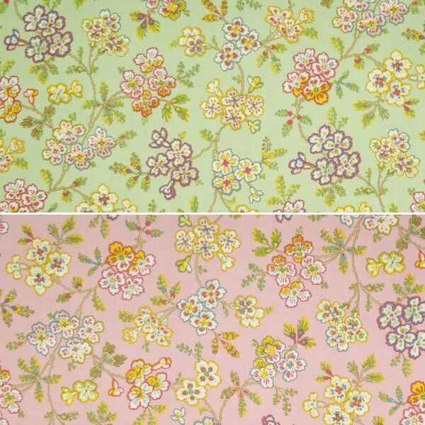 Coventry Flower Garden 100% Cotton Patchwork Fabric (Quilting Treasures)