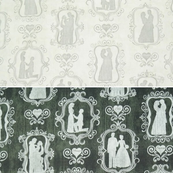 I Do Wedding Couple Photo Frames 100% Cotton Patchwork Fabric Quilting Treasures