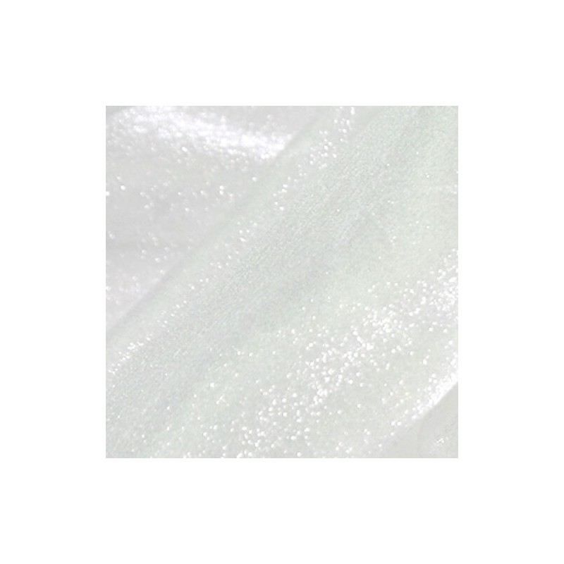 White  Japanese Crystal Organza Fabric