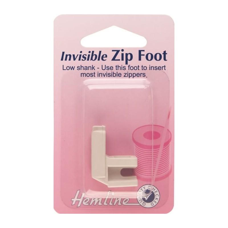 Hemline Invisible Zipper Foot
