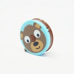 "Jungle Zoo Animals Retractable 150cm/60"" Length Tape Measure Craft"