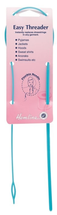 Hemline Easy Threader For Drawstring Hoods, Pyjamas Etc.
