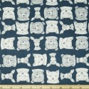 Bear Friends Deer Fox Wildlife 100% Cotton Patchwork Fabric (Dear Stella)