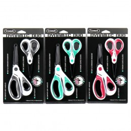 Triumph Dynamic Duo Titanium Coated Scissors Set In Choice Of 3 Colours