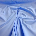 Plain Coloured Polycotton Dress Craft Fabric New Blue
