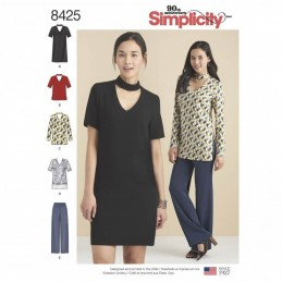 Simplicity Sewing Pattern 8425 Misses & Petite Separates Tunics Dress & Trousers
