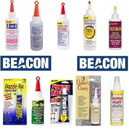 Beacon Glue Adhesive Gem, Felt, Decoupage & Fabric