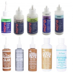 Hi Tack Trimits Glue Adhesive, Fray Stop, Fabric Stiffener