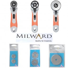 Milward Rotary Cutter 28mm, 45mm & 60mm + Replacement Blades