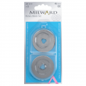 Milward Rotary Cutter 45mm Replacement Blades x 2